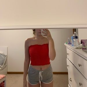 red tube top
